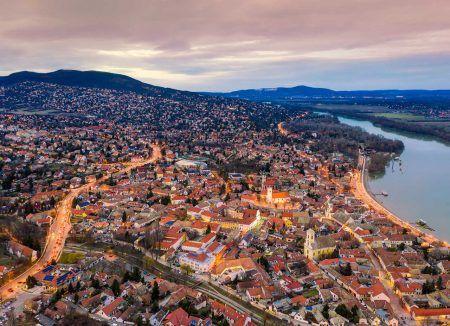 Hungary Szentendre cityscape