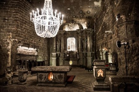 Wieliczka Salt Mine – Underground Chapel