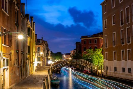 Venice, the city, the lagoon and its canals