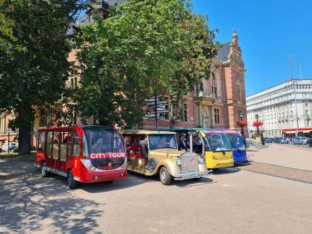 Gdansk golf cart ride